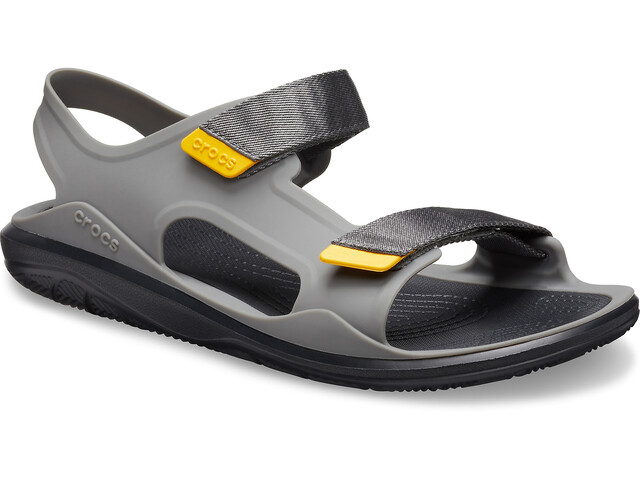 Crocs Swiftwater Expedition Sandalias Hombre, slate grey/black